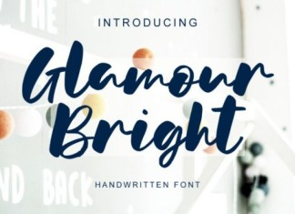 Glamour Bright Font
