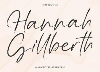 Hannah Gillberth Font