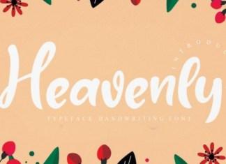 Heavenly Font