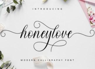 Honeylove Font
