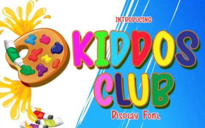 Kiddos Club Font