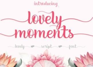Lovely Moments Font
