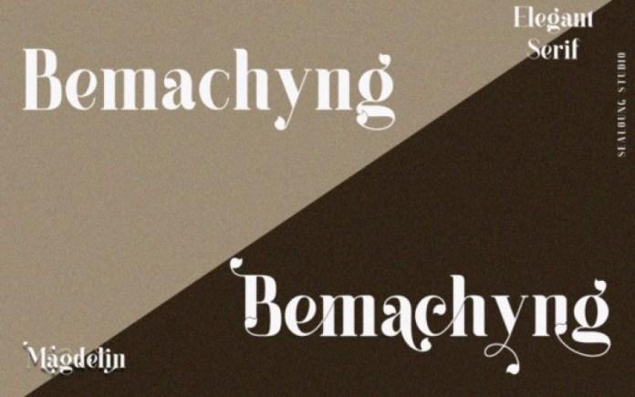 Magdelin Serif Font