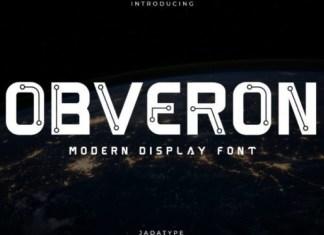 Obveron Font