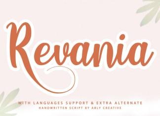 Revania Font