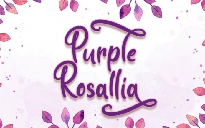 Purple Rosallia Font