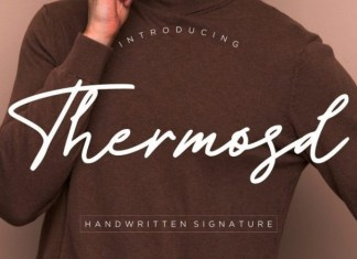 Thermosd Font