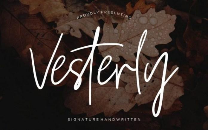 Vesterly Font