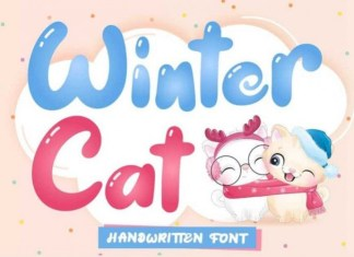 Winter Cat Font