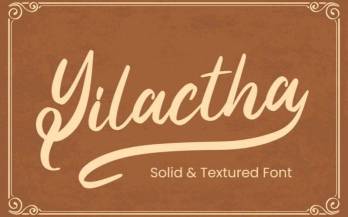 Yilactha Font