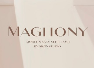 Maghony Font
