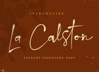 La Calston Font