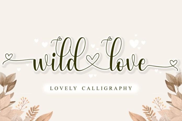 Wild Love Font