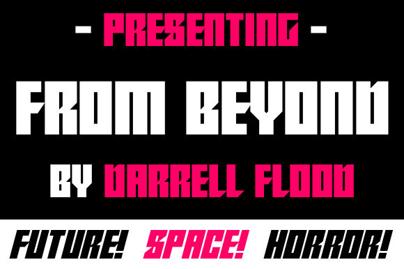 From Beyond Font