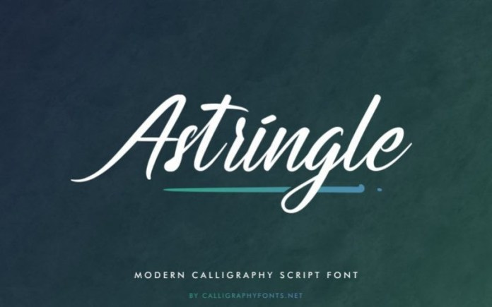 Astriangle Font