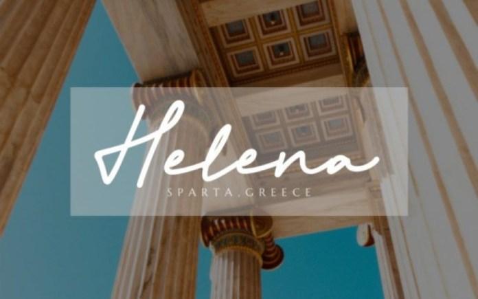 Athena Signature Font