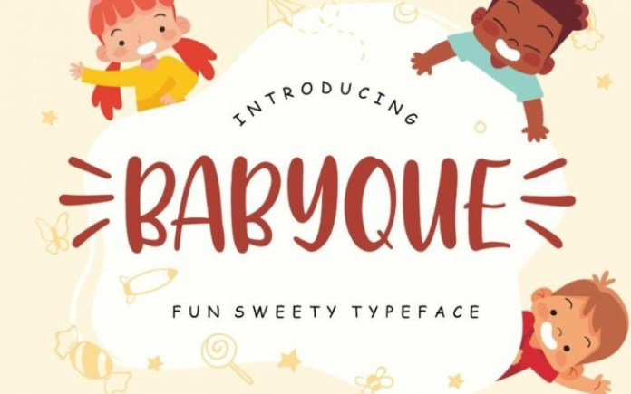 Babyque Font