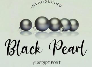 Black Pearl Font