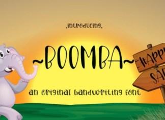 Boomba Font
