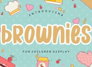Brownies Font