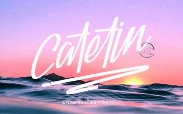 Catetin Font