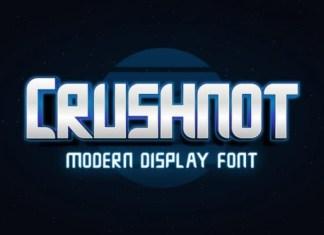 Crushnot Font