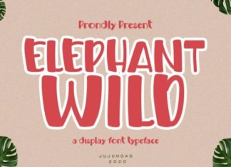 Elephant Whild Font