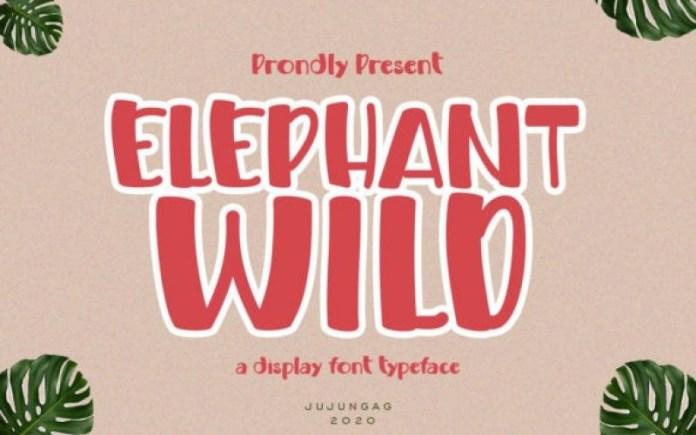 Elephant Whild Font