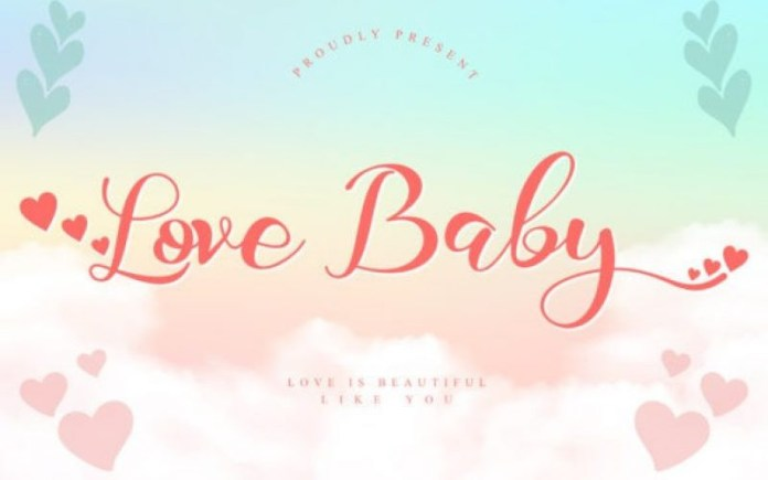Love Baby Font