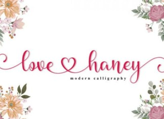 Love Honey Font