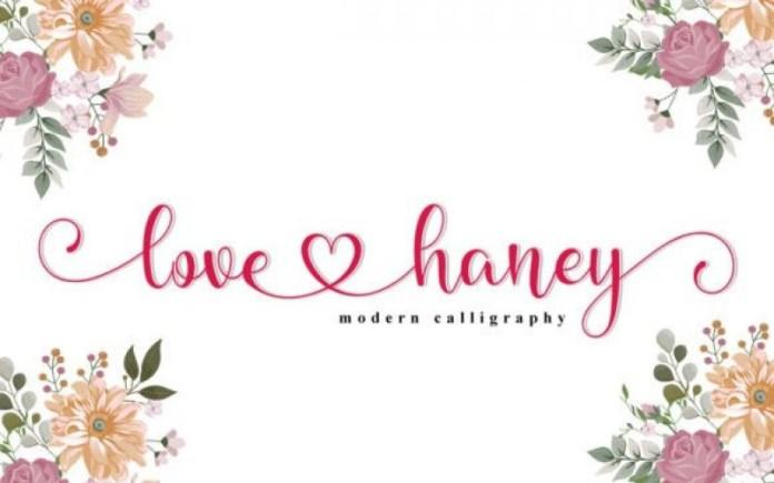 Love Honey Font