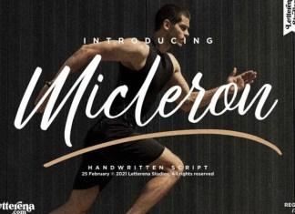 Micleron Font