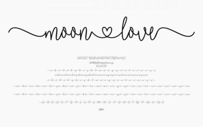 Moonlove Font