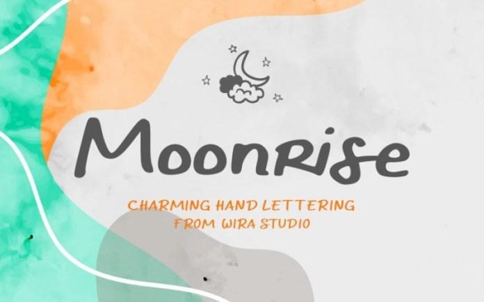 Moonrise Font