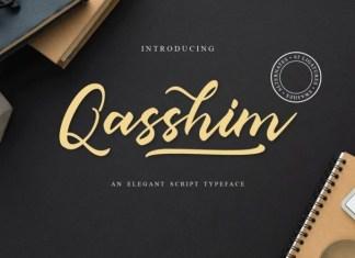Qasshim Font