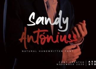 Sandy Antoniuss Font