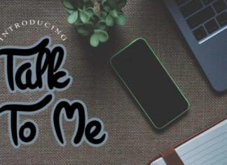 Talk To Me Font