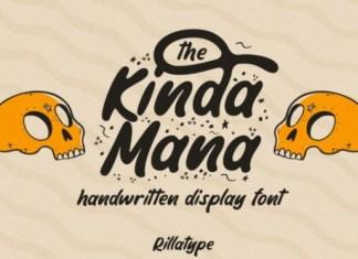 The Kindamana Font