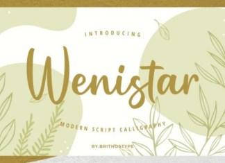 Wenistar Font
