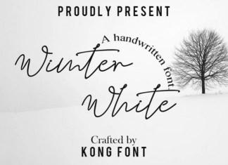 Wimter White Font