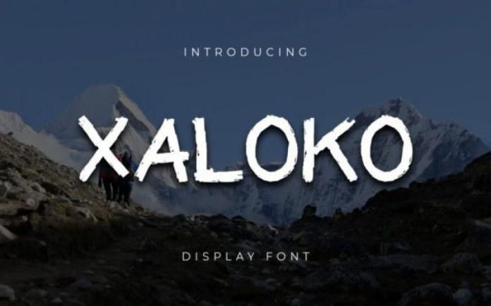 XALOKO Font
