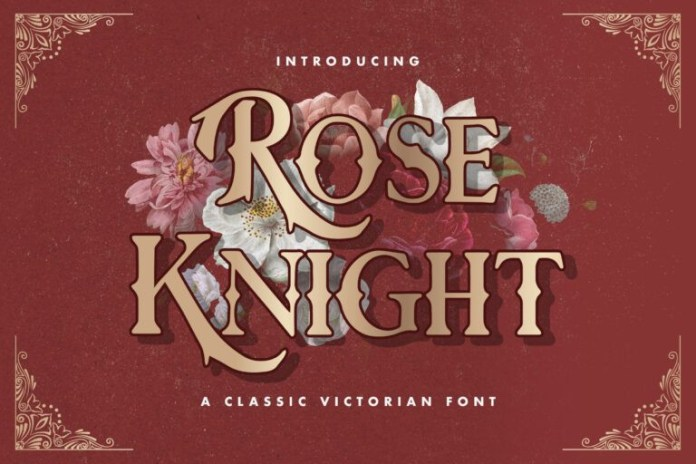 Rose Knight Font