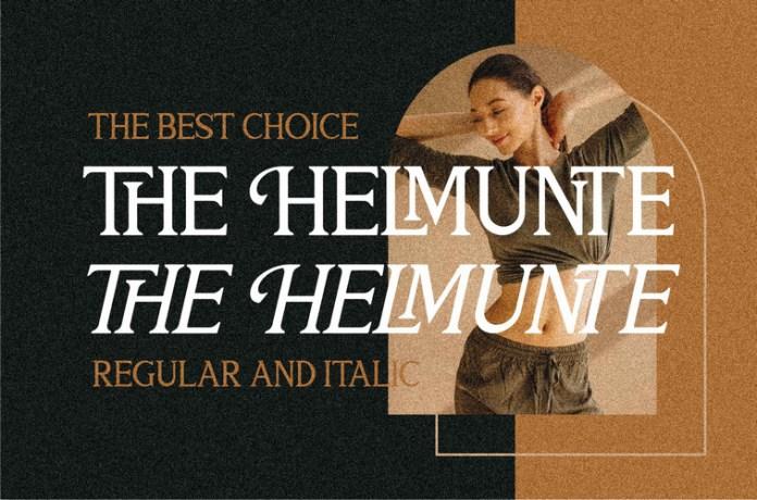 THE HELMUNTE Font