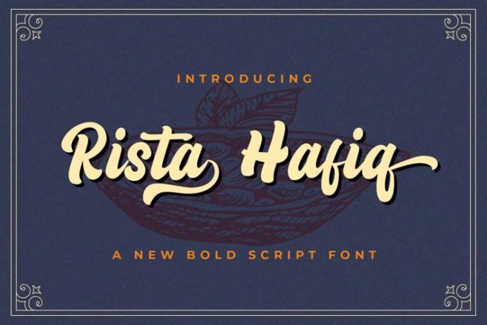 Rista Hafiq Font