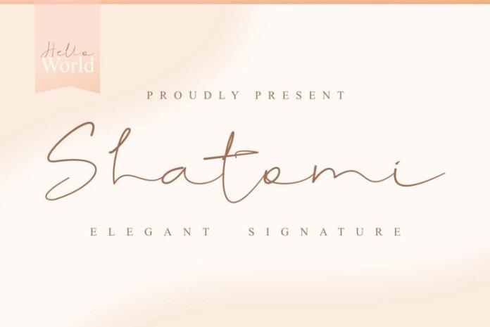 Shatomi Font