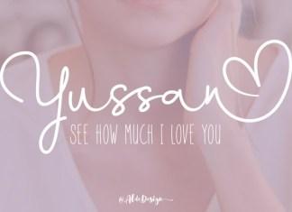 Yussan Font