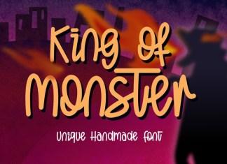 King of Monster Font