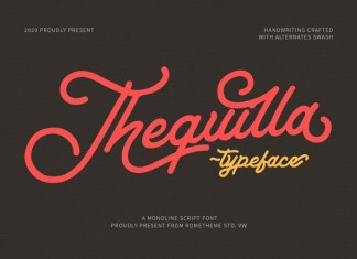 Thequilla Font