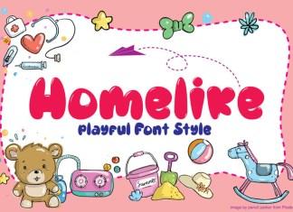 Homelike Font