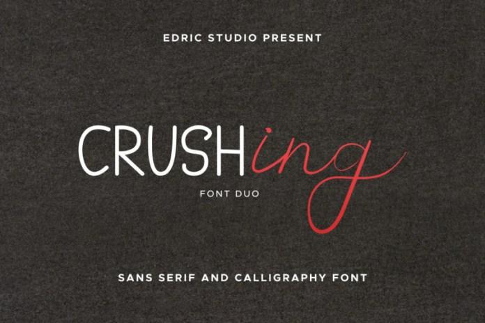 Crushing Font